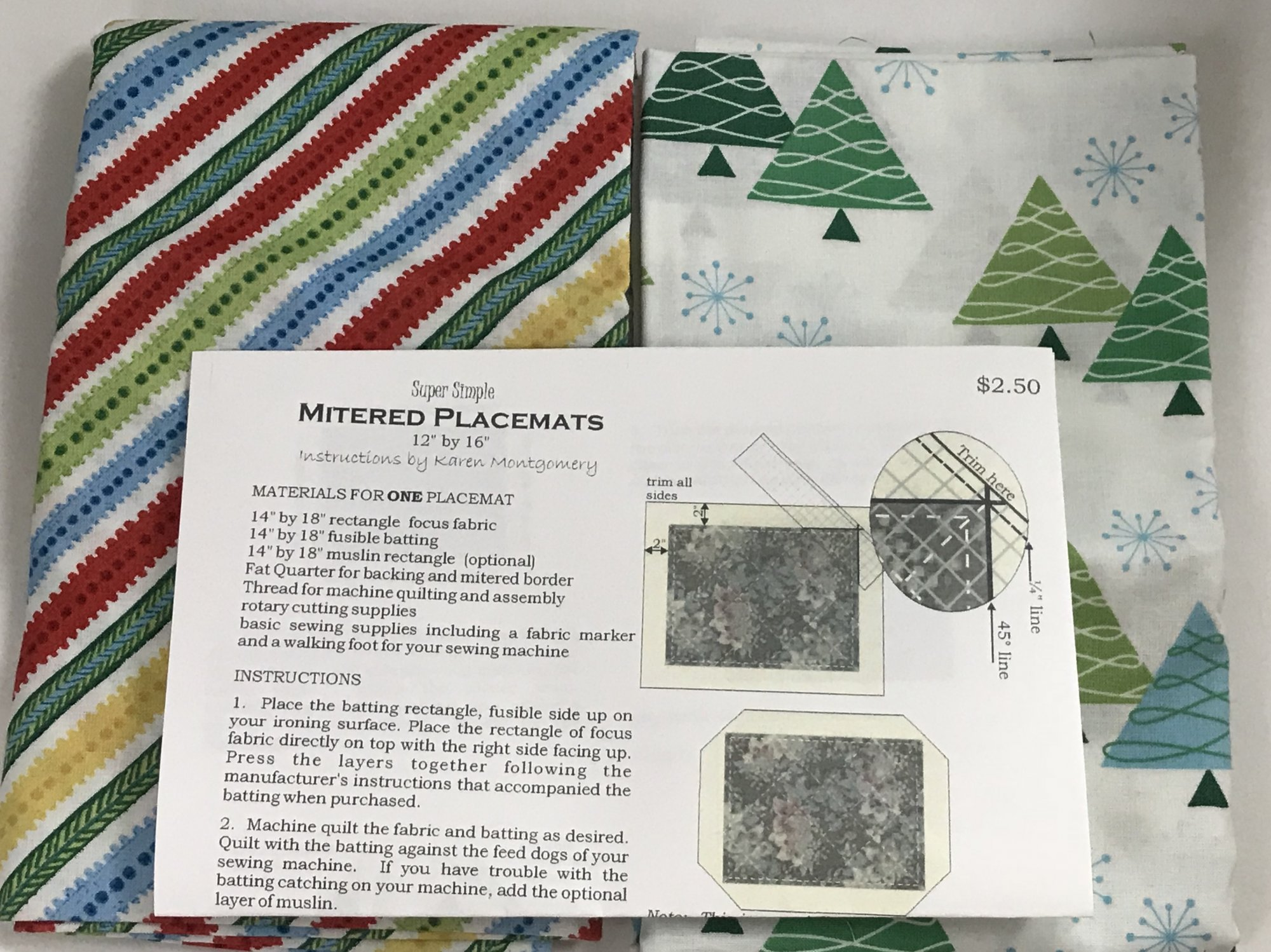 Placemats And Table Toppers