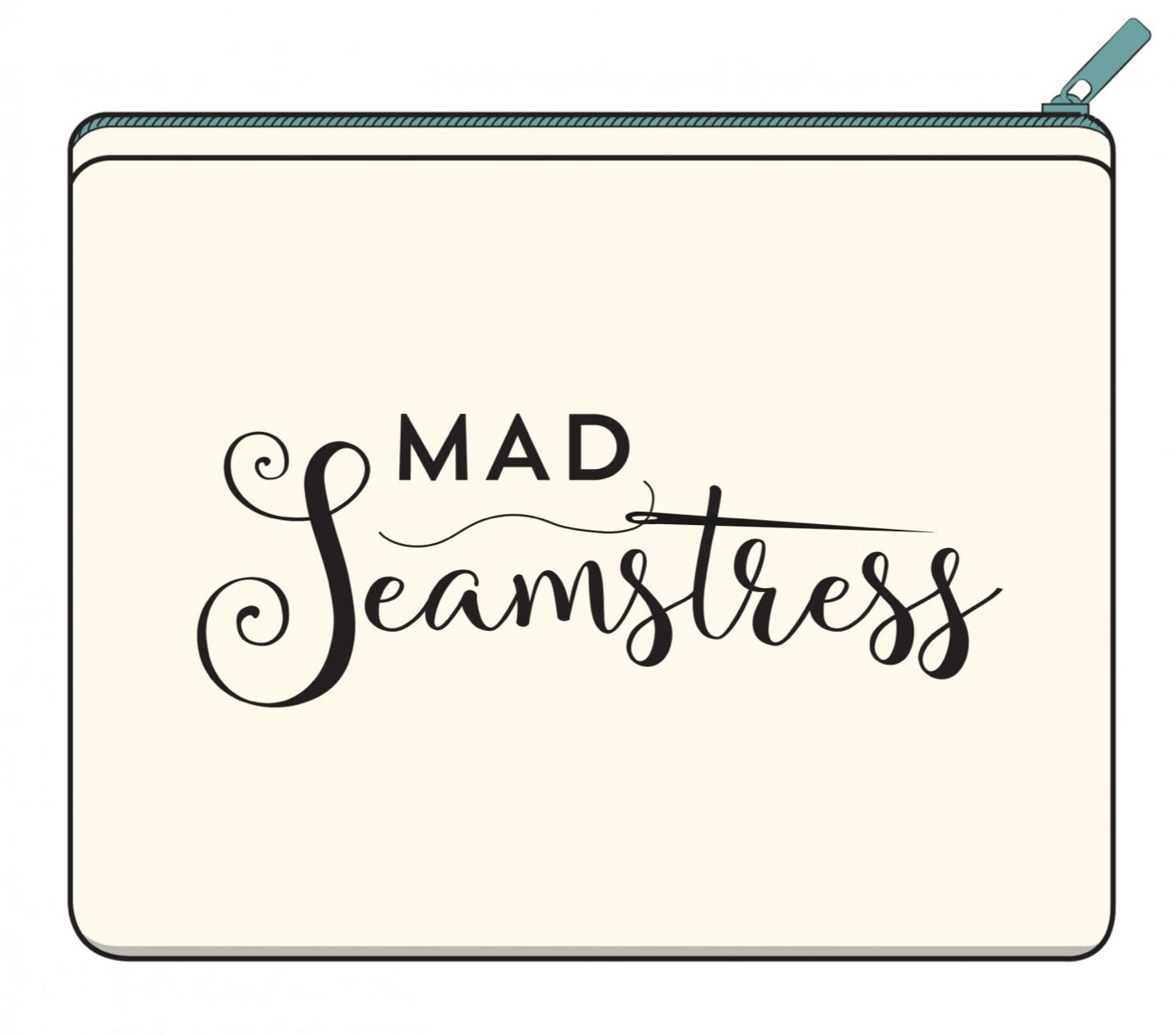 Small Seamstress Zipper Bag