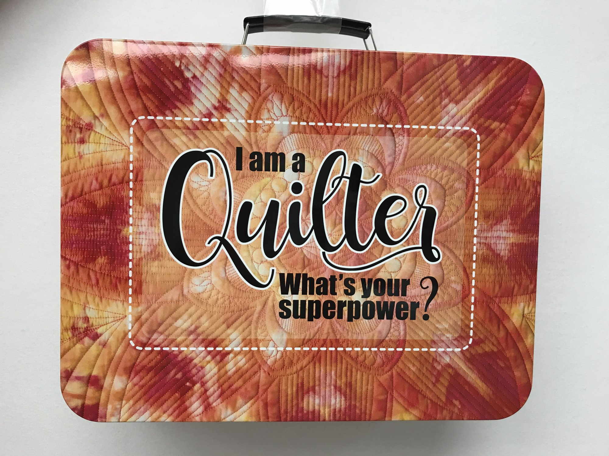 Ruler Tin 'I Am a Quilter What's Your Superpower'