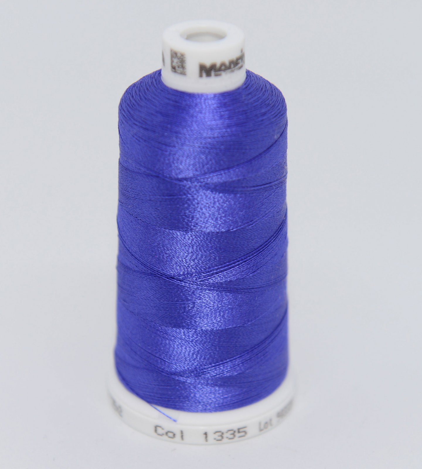 Madeira Rayon Embroidery Thread 1100yd Spool BLUE PURPLE Color 1335