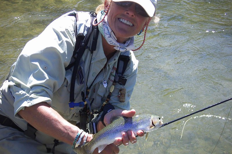 Fly Fishing at White Mountains Adventures