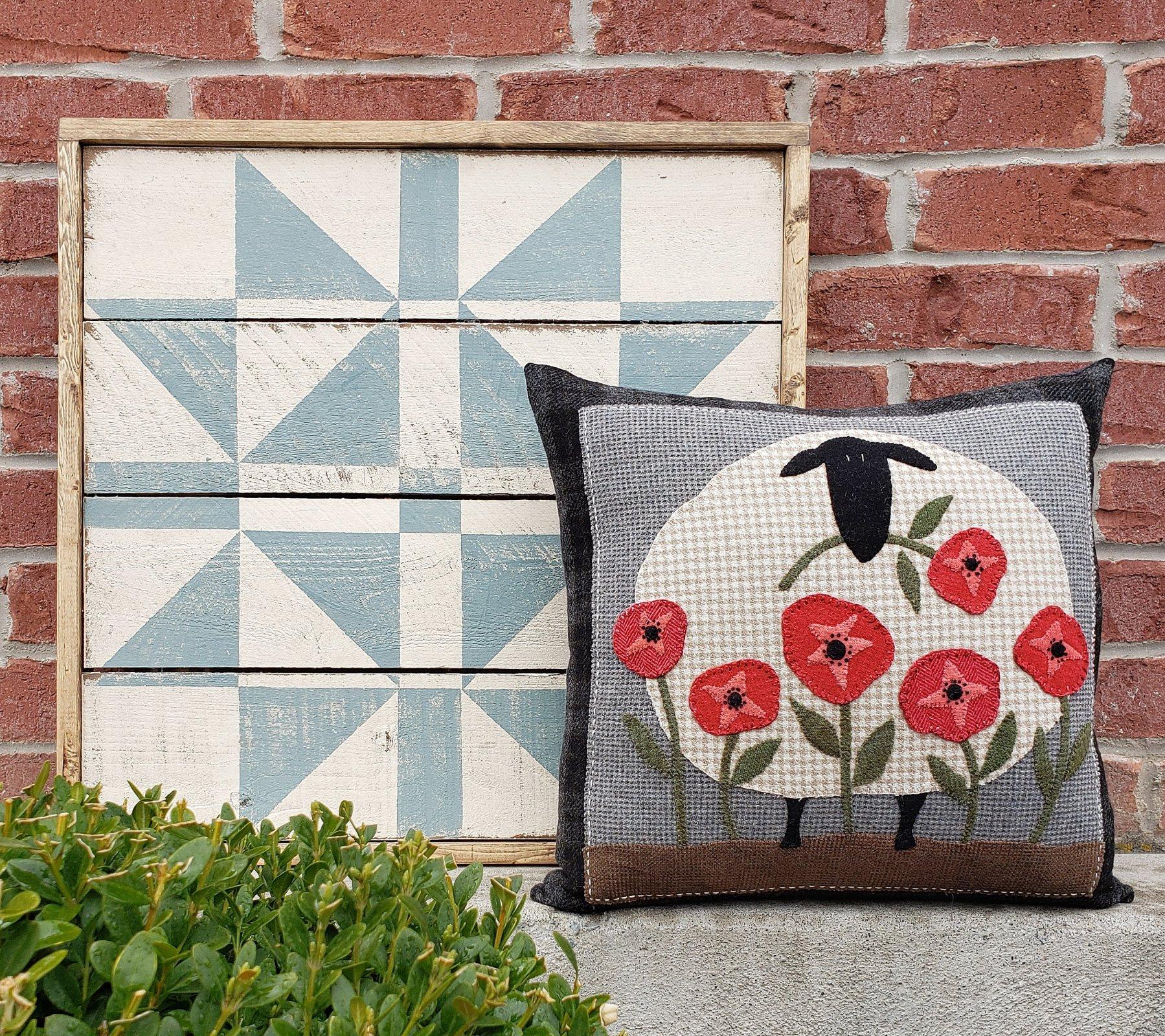 Picking Poppies Pillow Kit