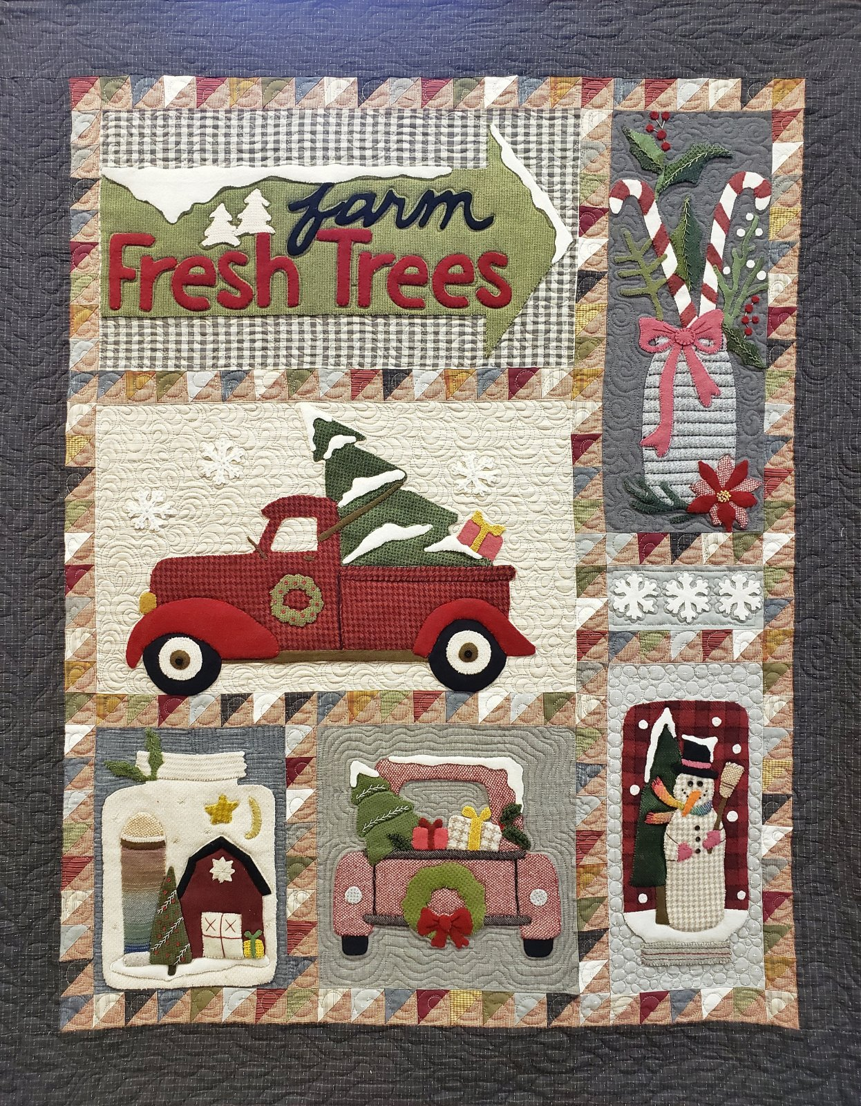 Bringing Home the Tree Quilt Kit