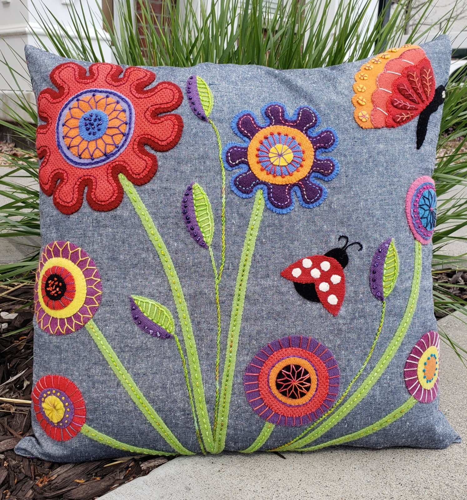 Baby Blooms Cushion Kit