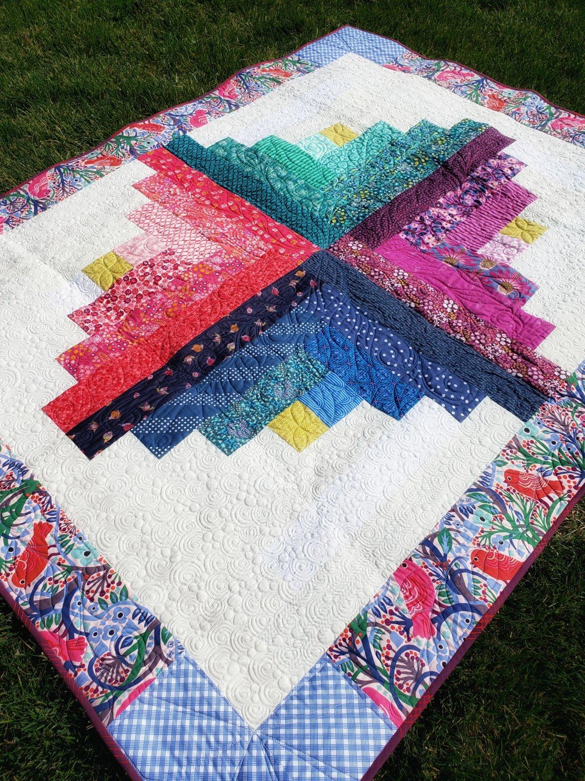 Color Burst Quilt Kit