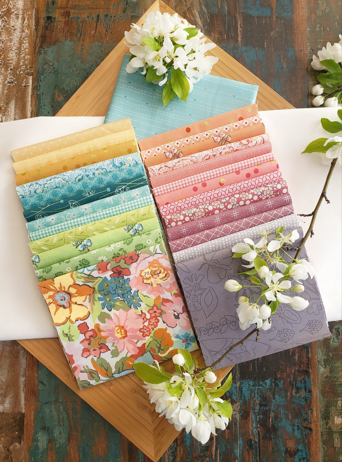 Summer Blossoms Quilt Kit