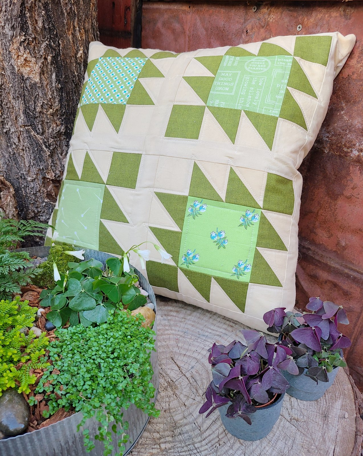 March Pillow Cover PDF Pattern