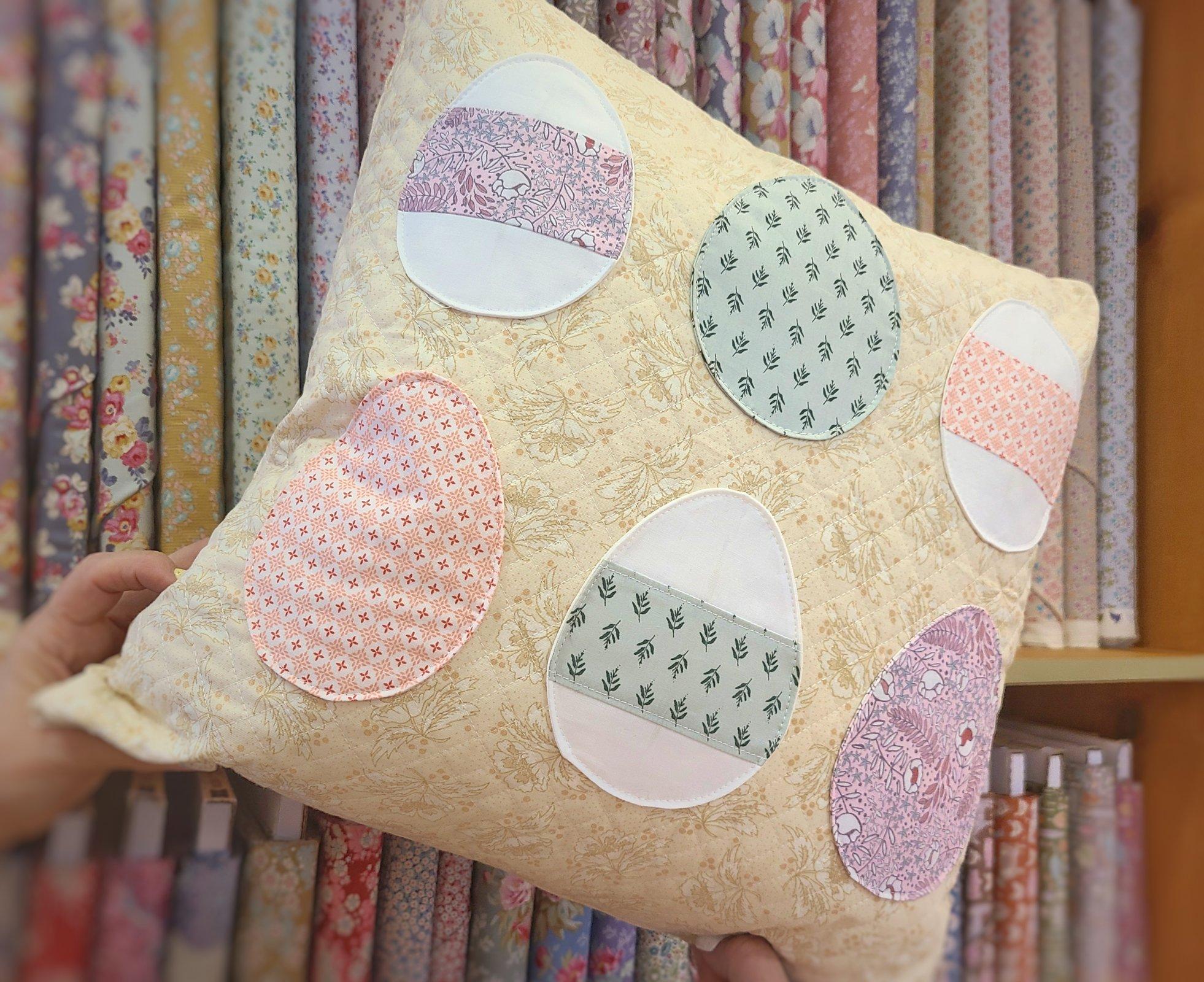 April Pillow Cover PDF Pattern