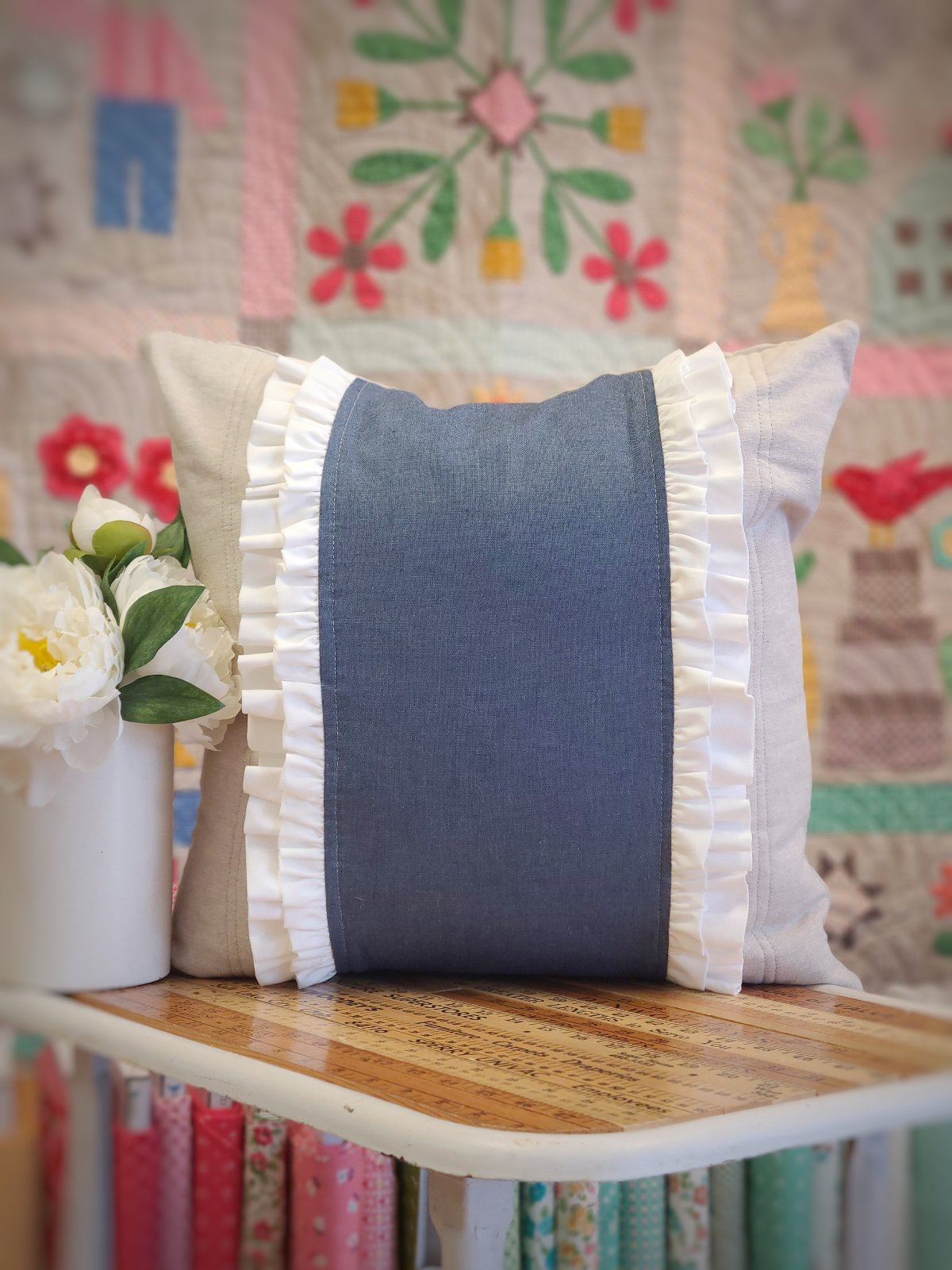 May Pillow Cover PDF Pattern