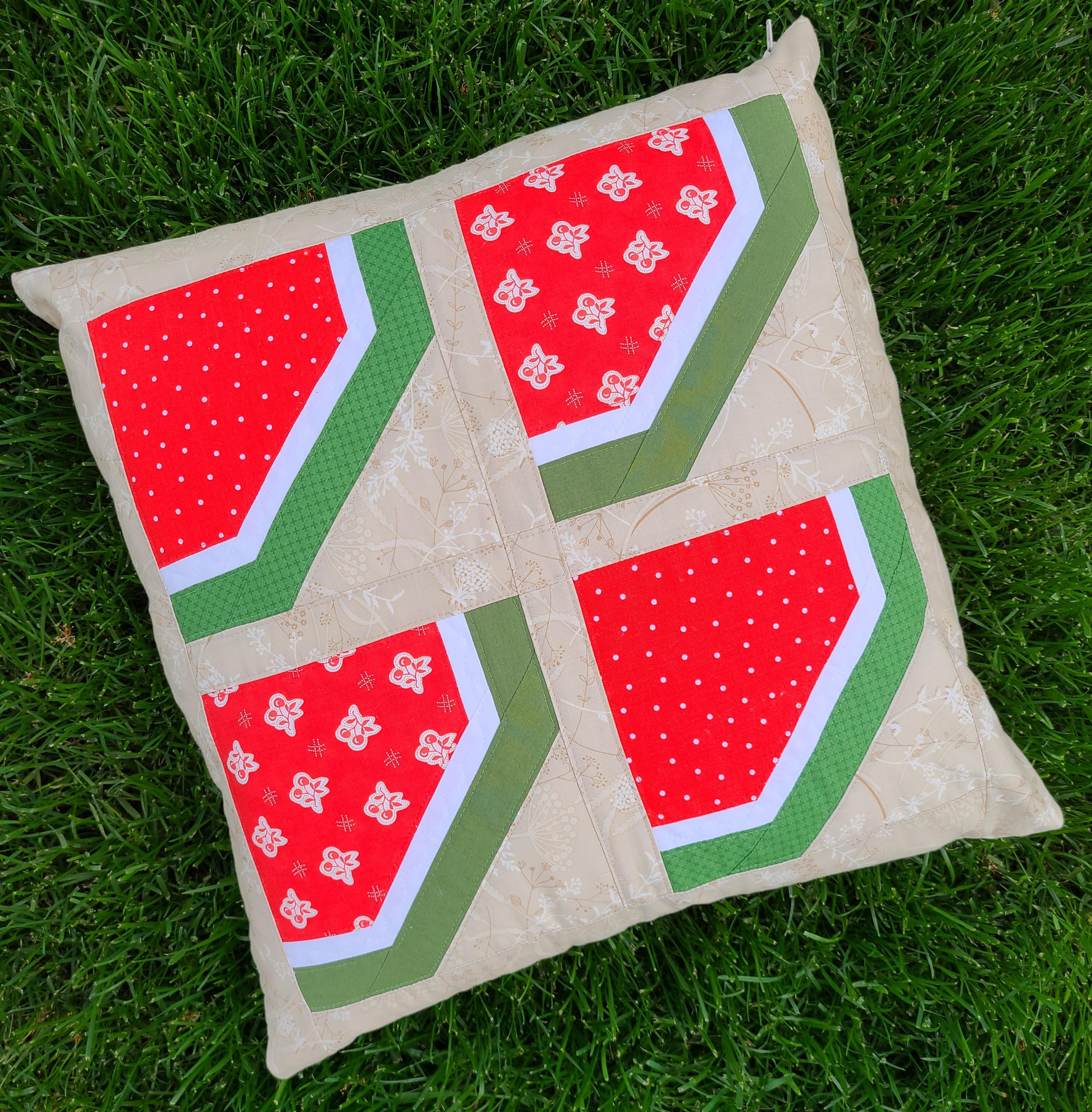June Pillow Cover PDF Pattern