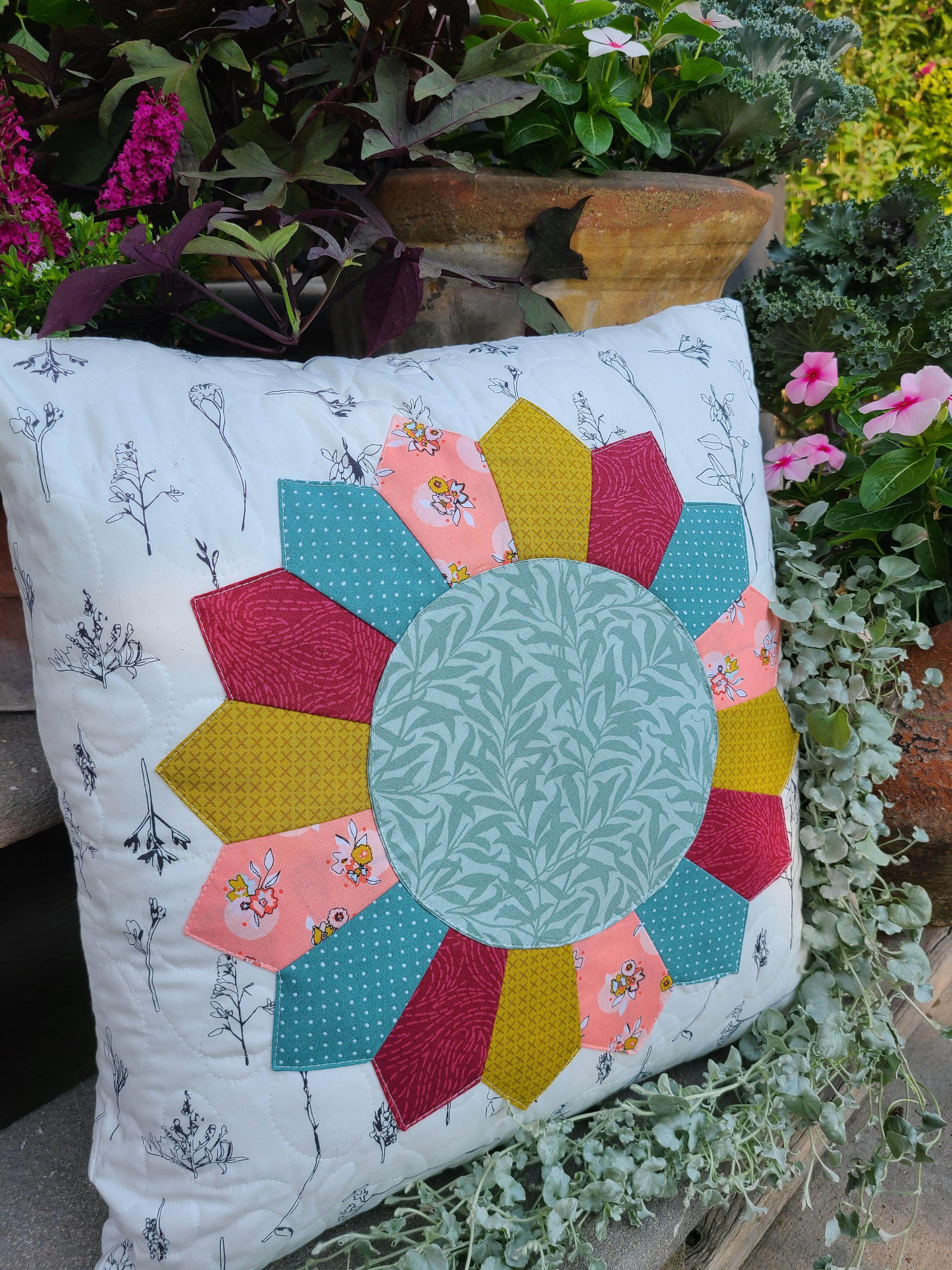 August Pillow Cover Pattern PDF