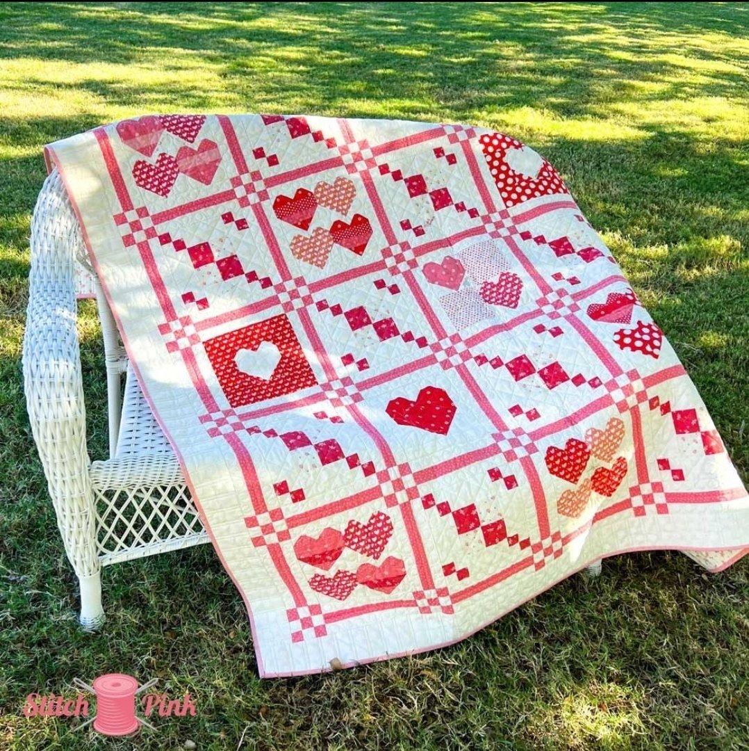 Stitch Pink 2021 Together Quilt Kit