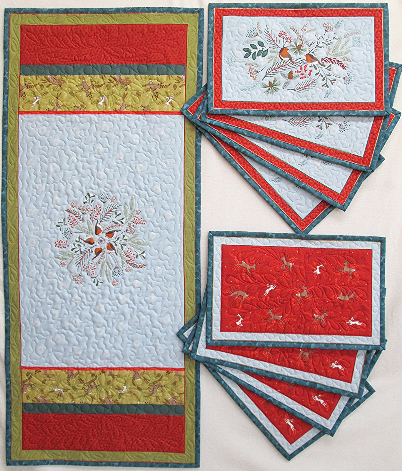 Lewis & Irene New Forest C63 Placemat & Table Runner Panel