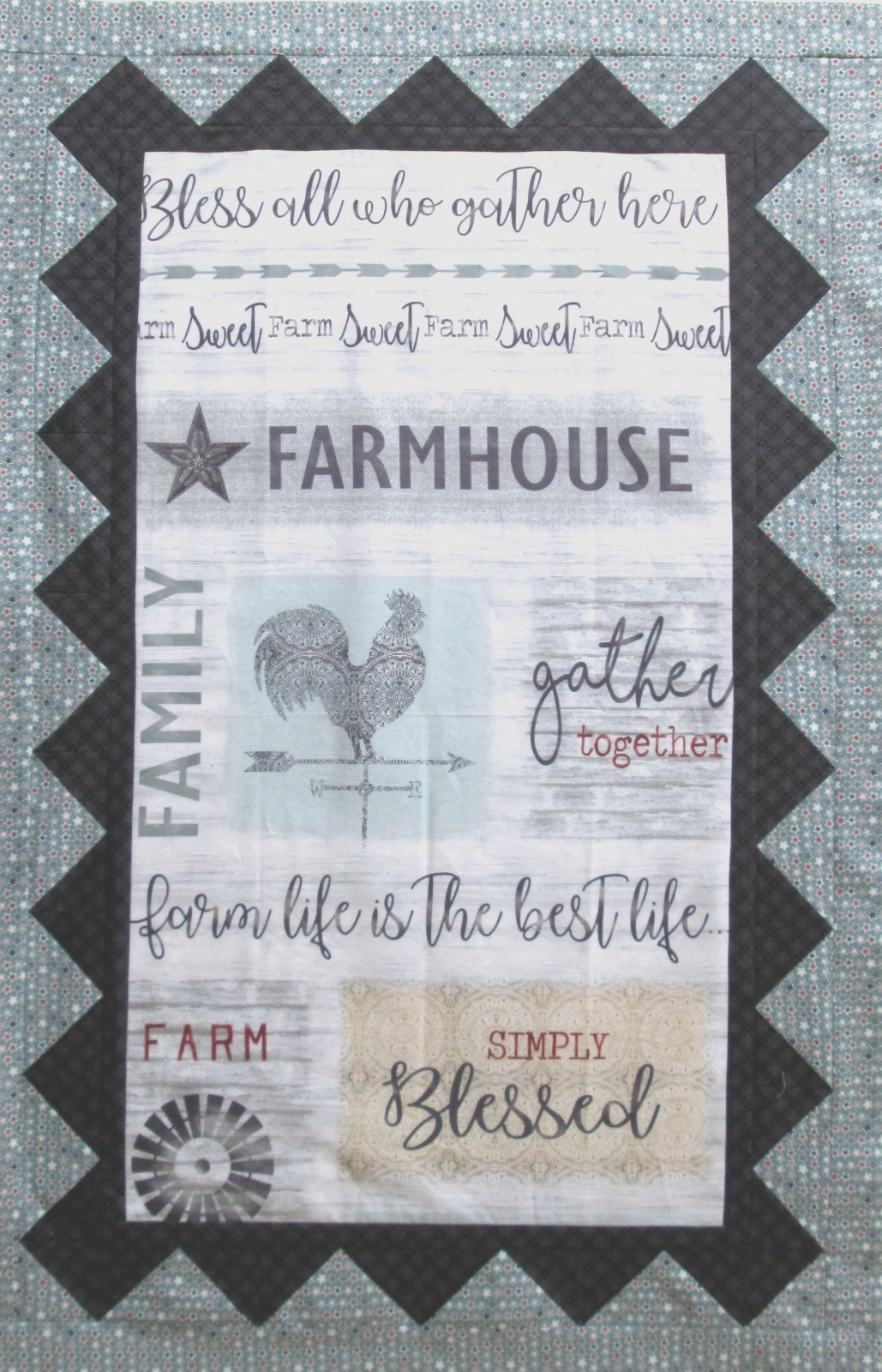 Farm Sweet Farm Wall Hanging or Quilt Kit