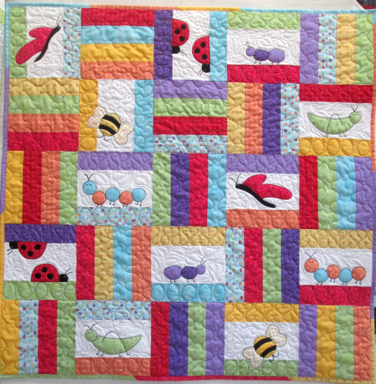 Welcome to Bugsville Quilt Kit