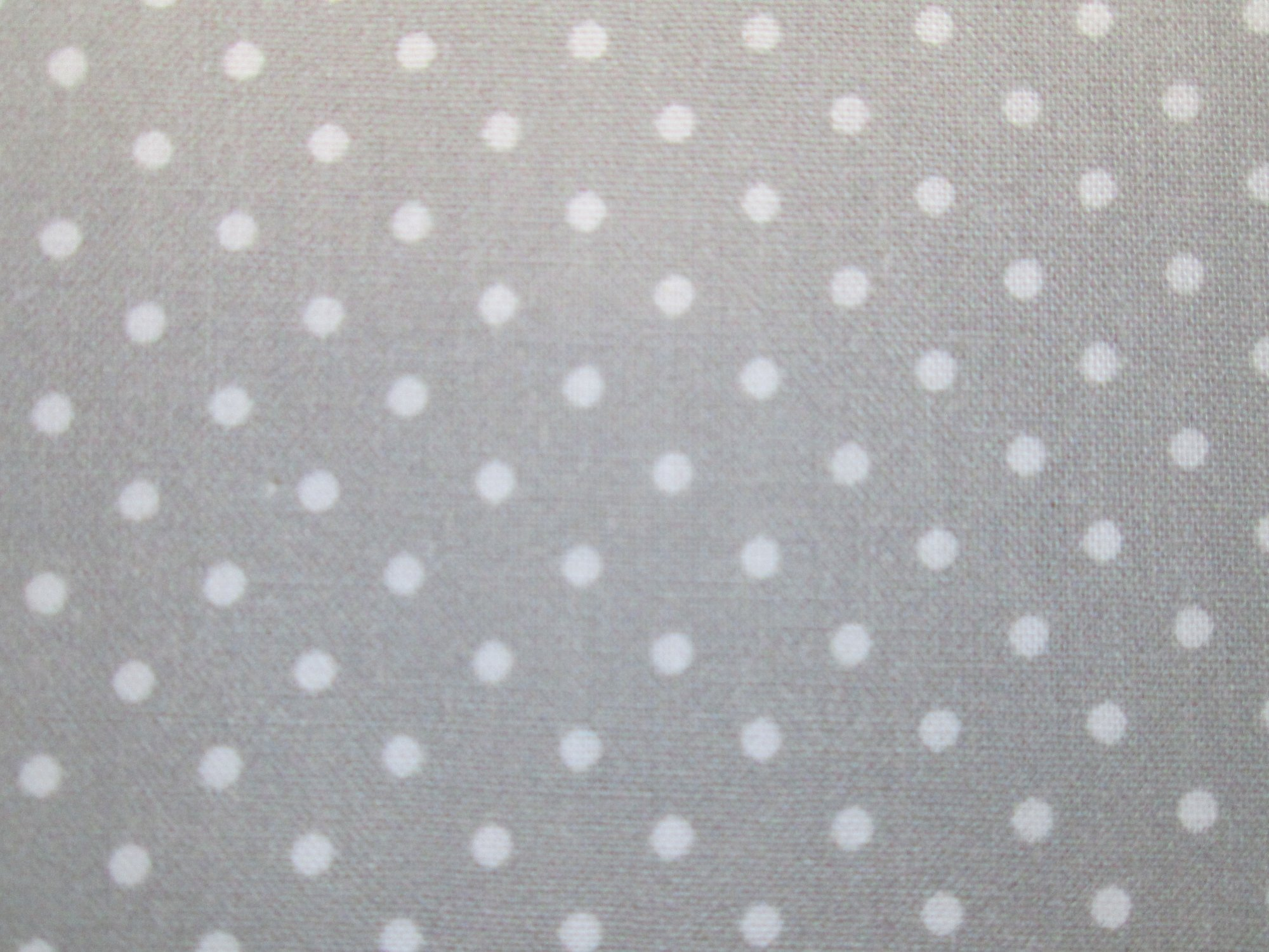 Stof of France Digital La Concorde 2 QU0002002-DP Gray with White Dots