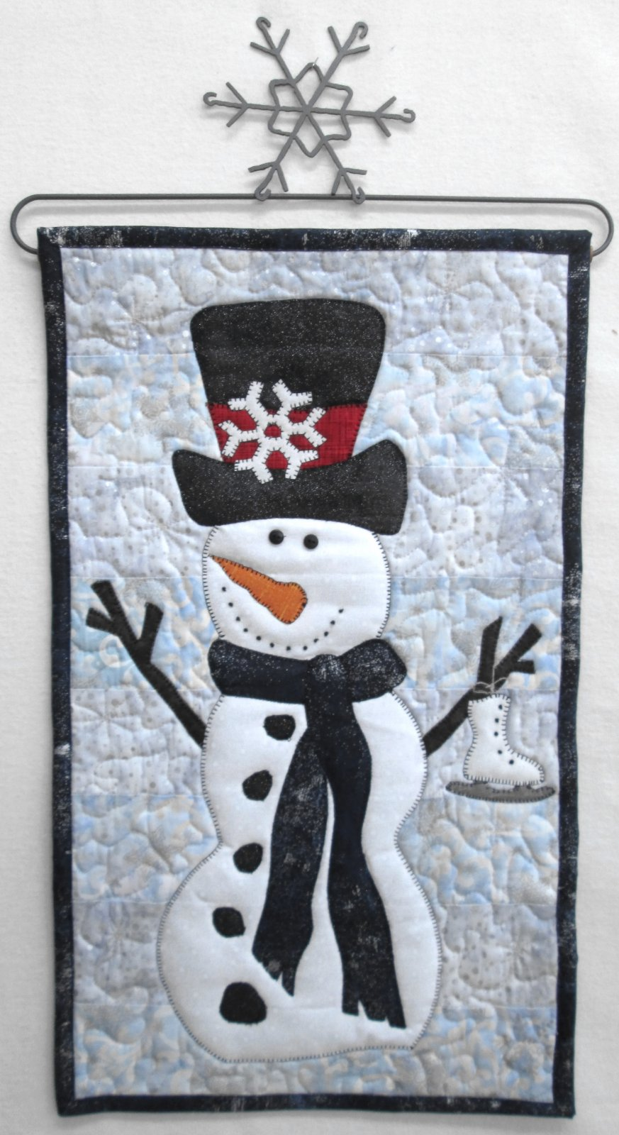 Mr. Frosty Wall Hanging Sample