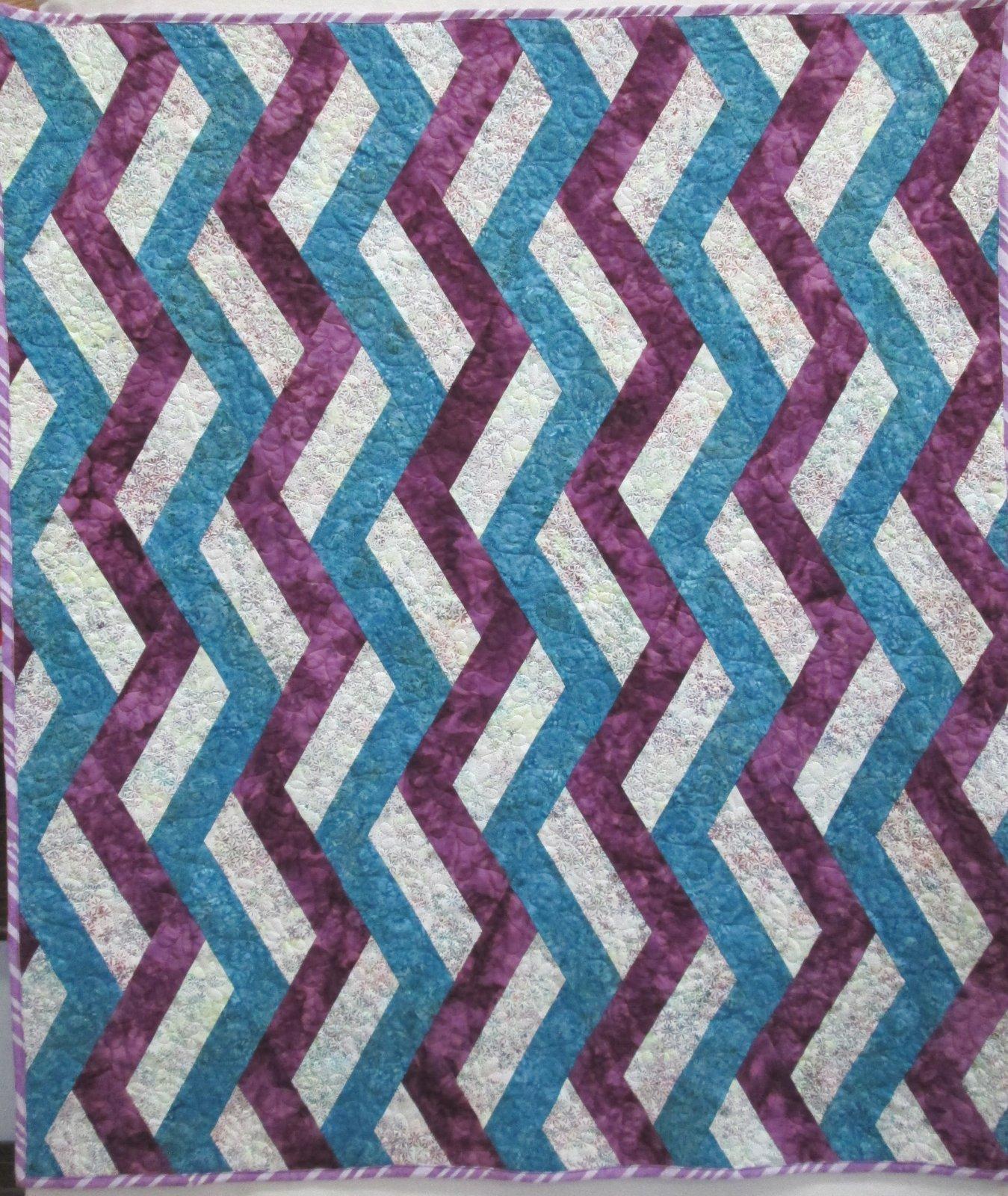 Hoffman Batik Ribbon Candy Quilt Kit