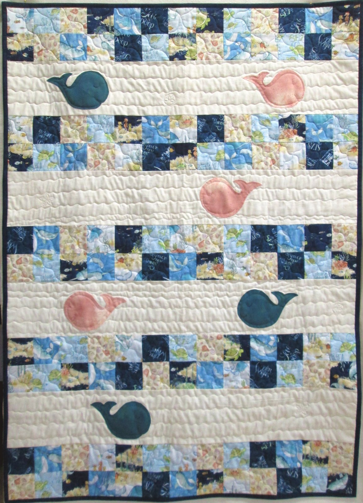 Water Wishes Dream Big Little One Quilt Sample