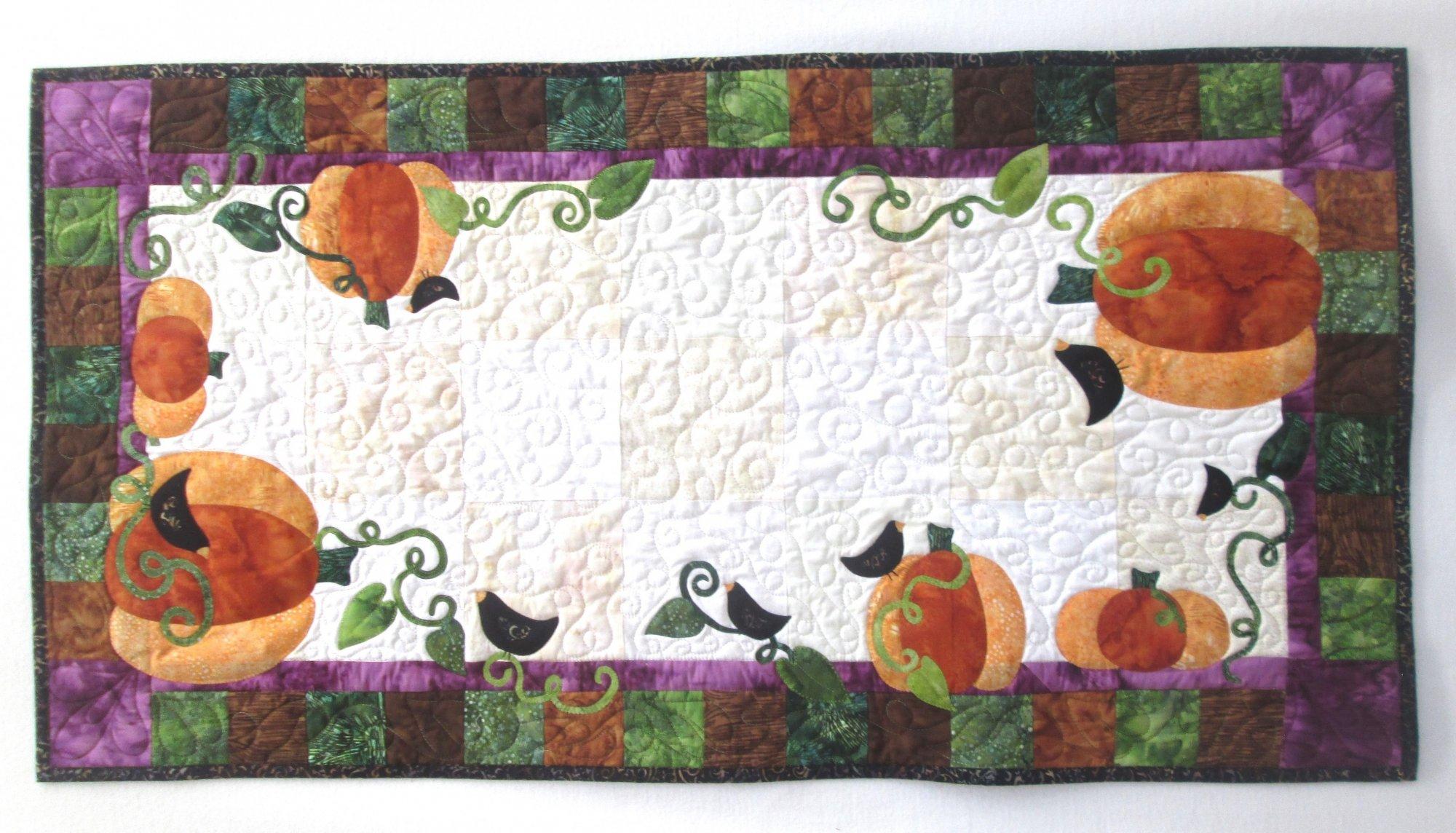 The Great Pumpkin Harvest Table Runner Kit