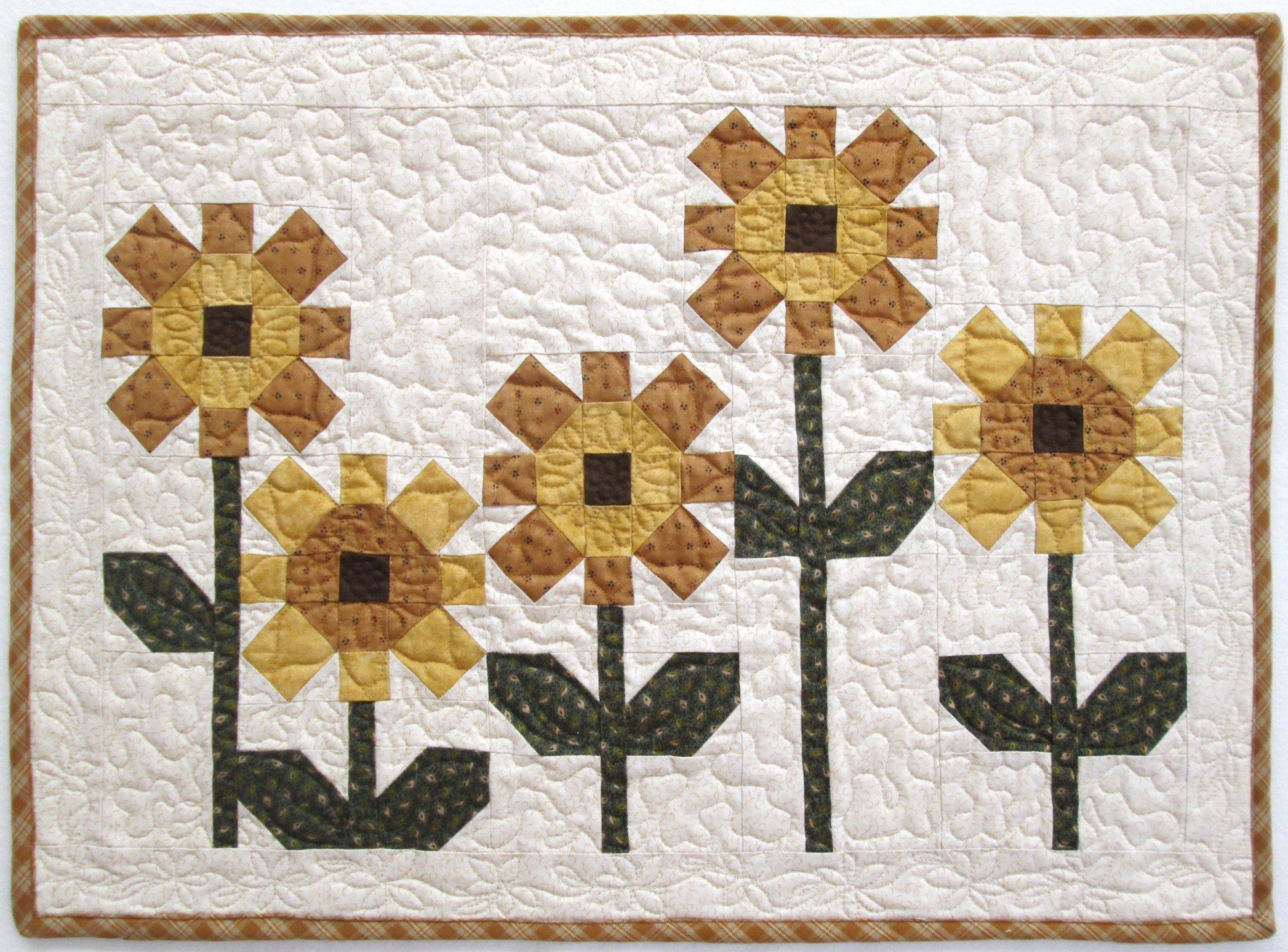 Sunflowers Wall Hanging Kit