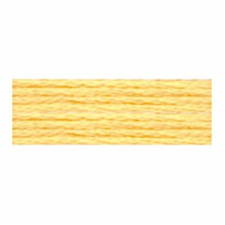 COSMO EMBROIDERY THREAD 2512 143 BUTTER YELLOW
