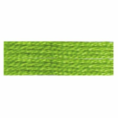 COSMO EMBROIDERY THREAD 2512 272 LIME GREEN