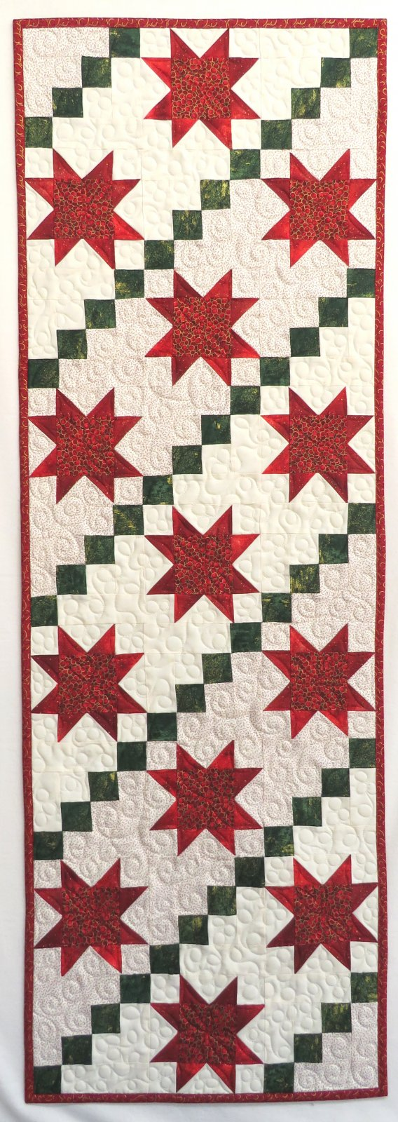 Stars & Stripes Christmas Table Runner Kit