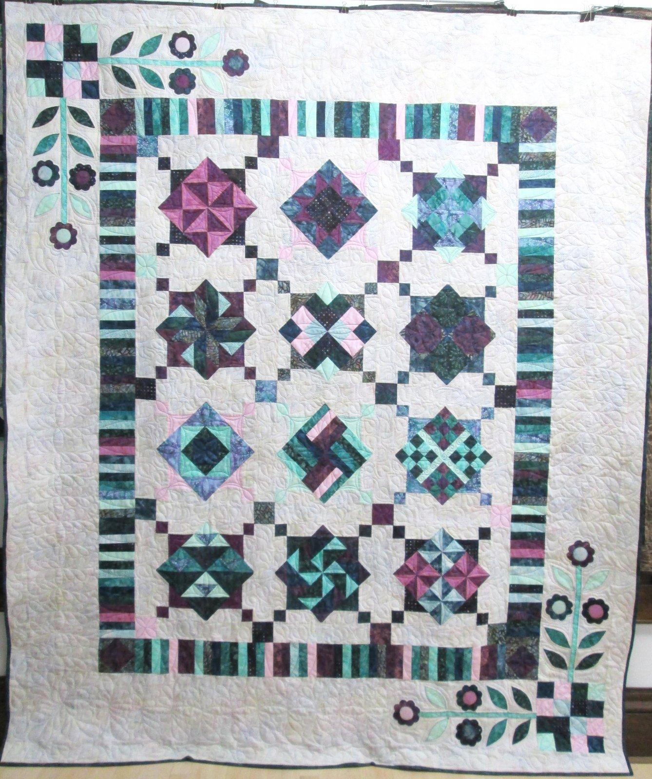 Batik Twilight Twist Quilt Kit