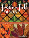 Festive Fall Quilts 11154 By Kim Schaefer Halloweer & Thanksgiving