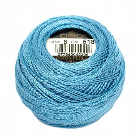 DMC PERLE 116-8-0518 LT WEDGEWOOD BLUE