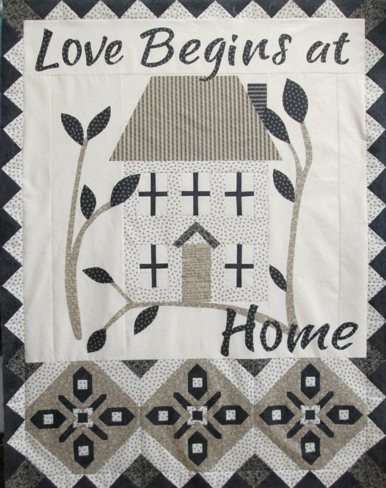 Love Begins at Home Banner Sample