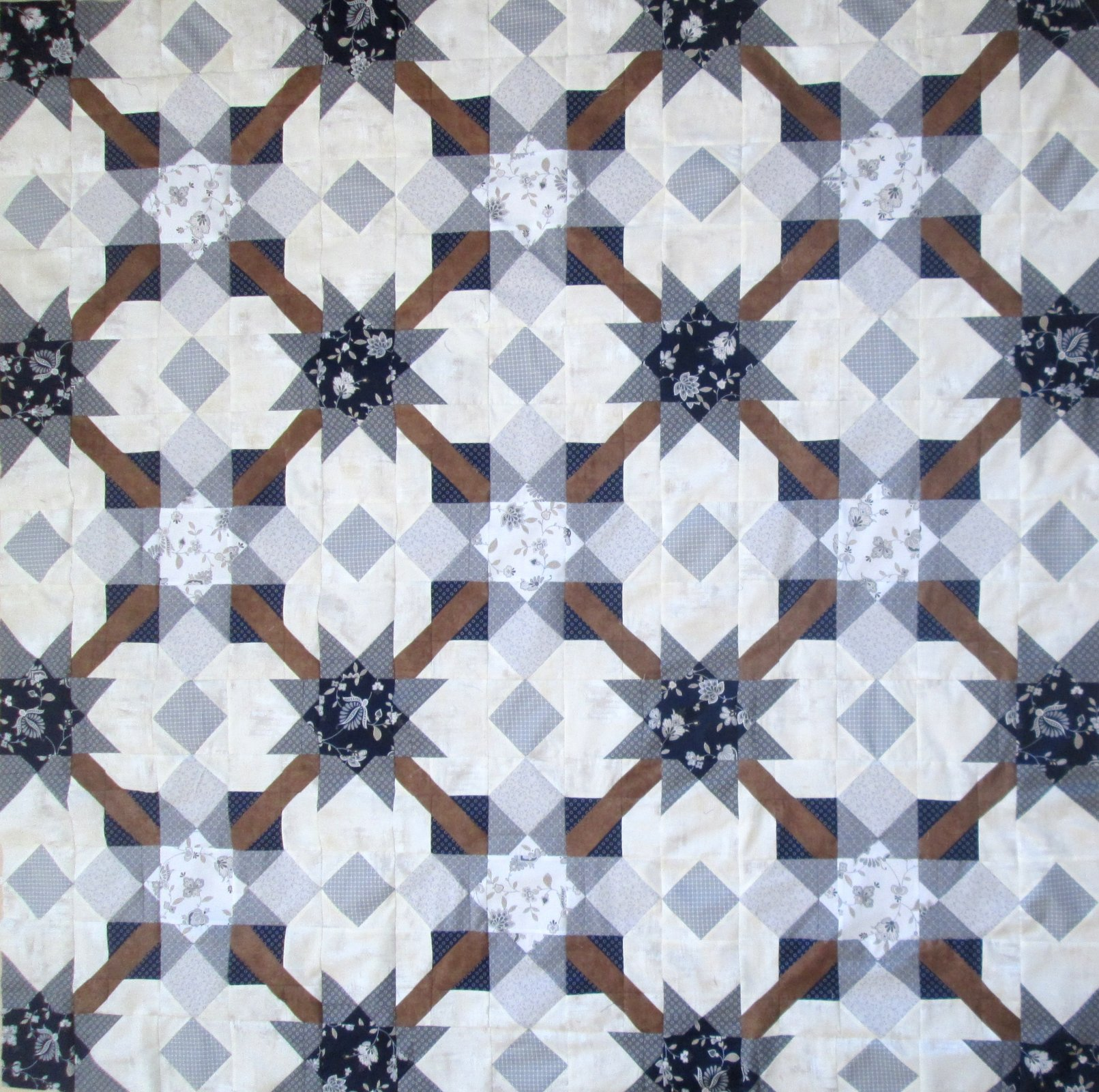 Special Edition Gathering Quilt Kit pattern by Cora's Quilts