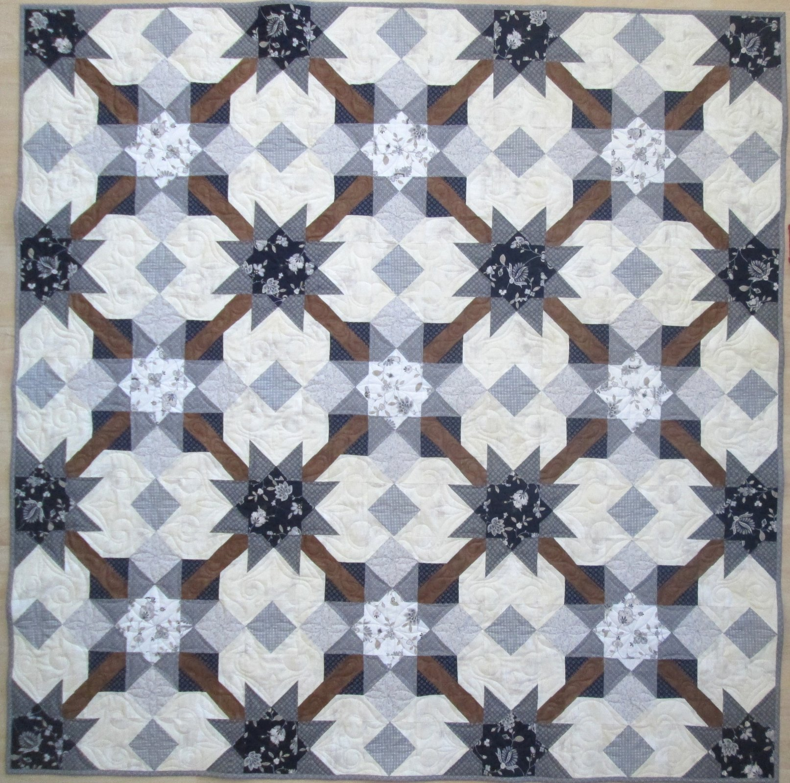 Special Edition Gathering Quilt Sample 72 x 72