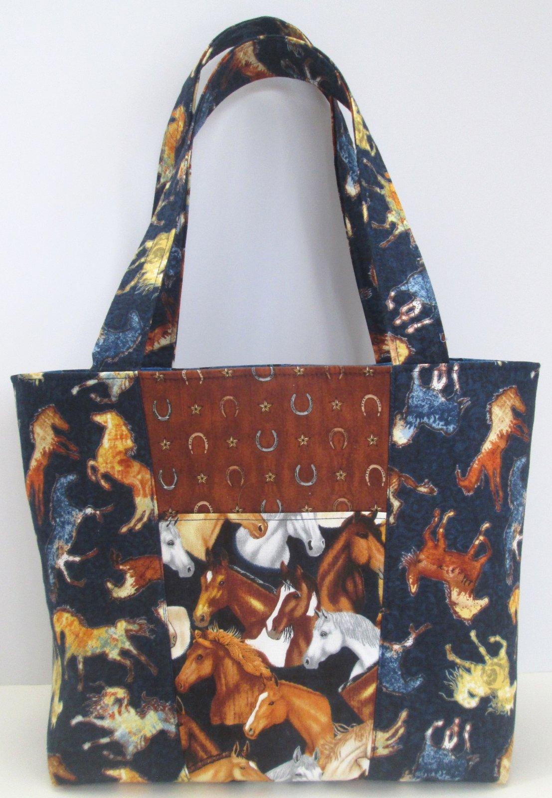 Mustang Sunset Claire Handbag Sample 10.25 x 9.25 x 4
