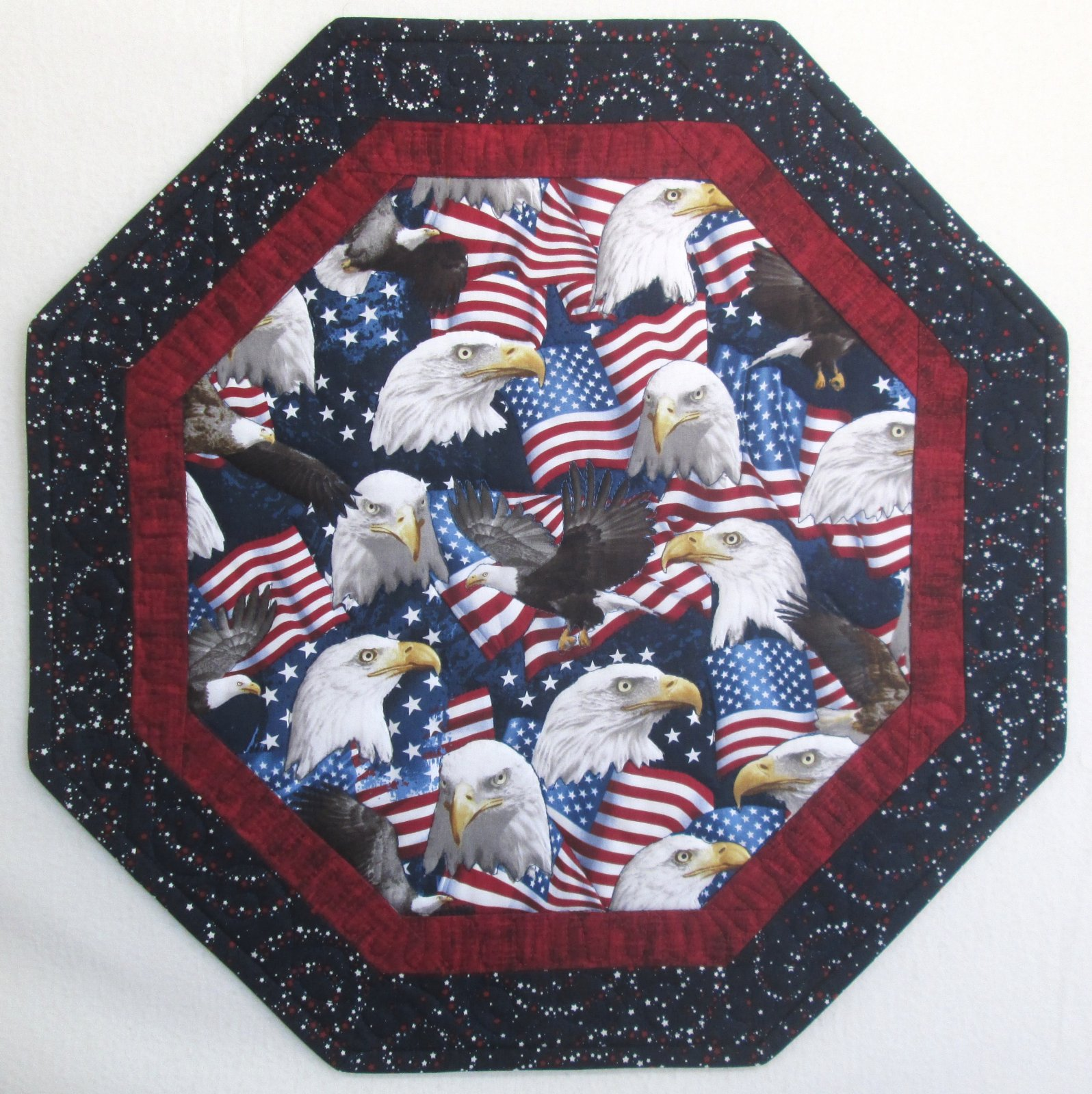 American Pride Table Time Topper Sample 18.5