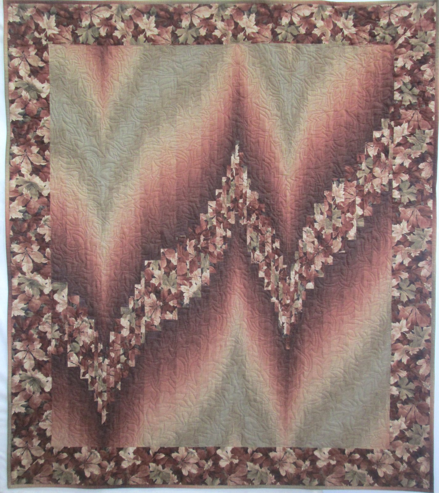 Falling Leaves Sew Simple Bargello Kit