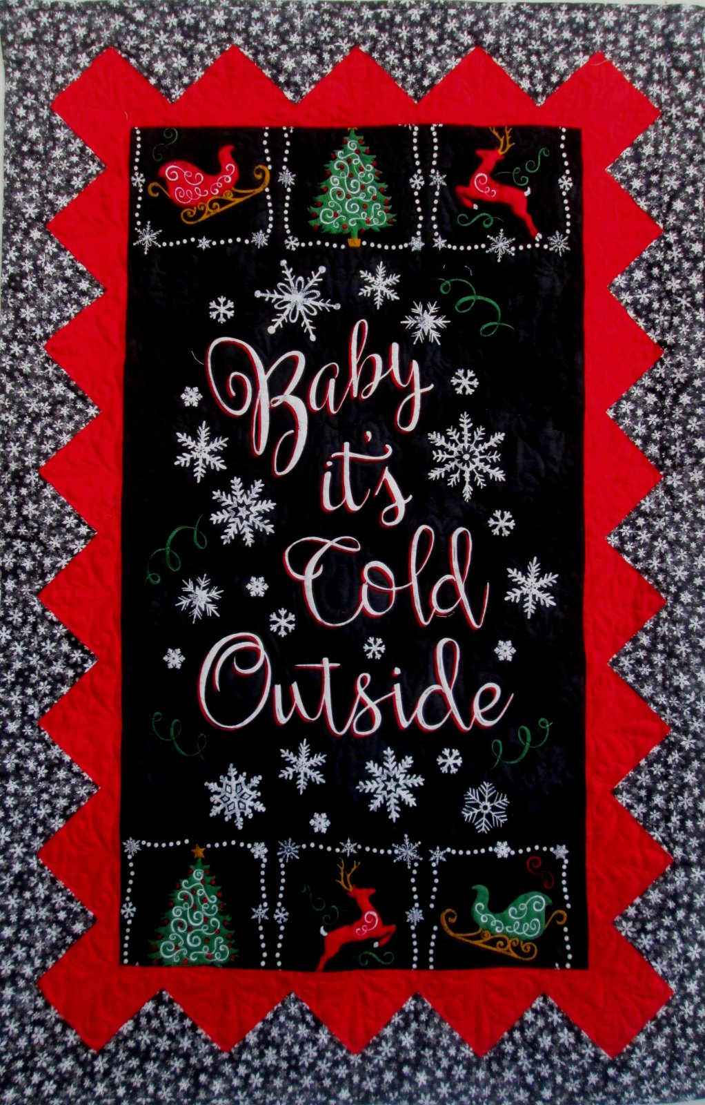 Baby It's Cold Outside Panel Wall Hanging Kit (Go Bananas)