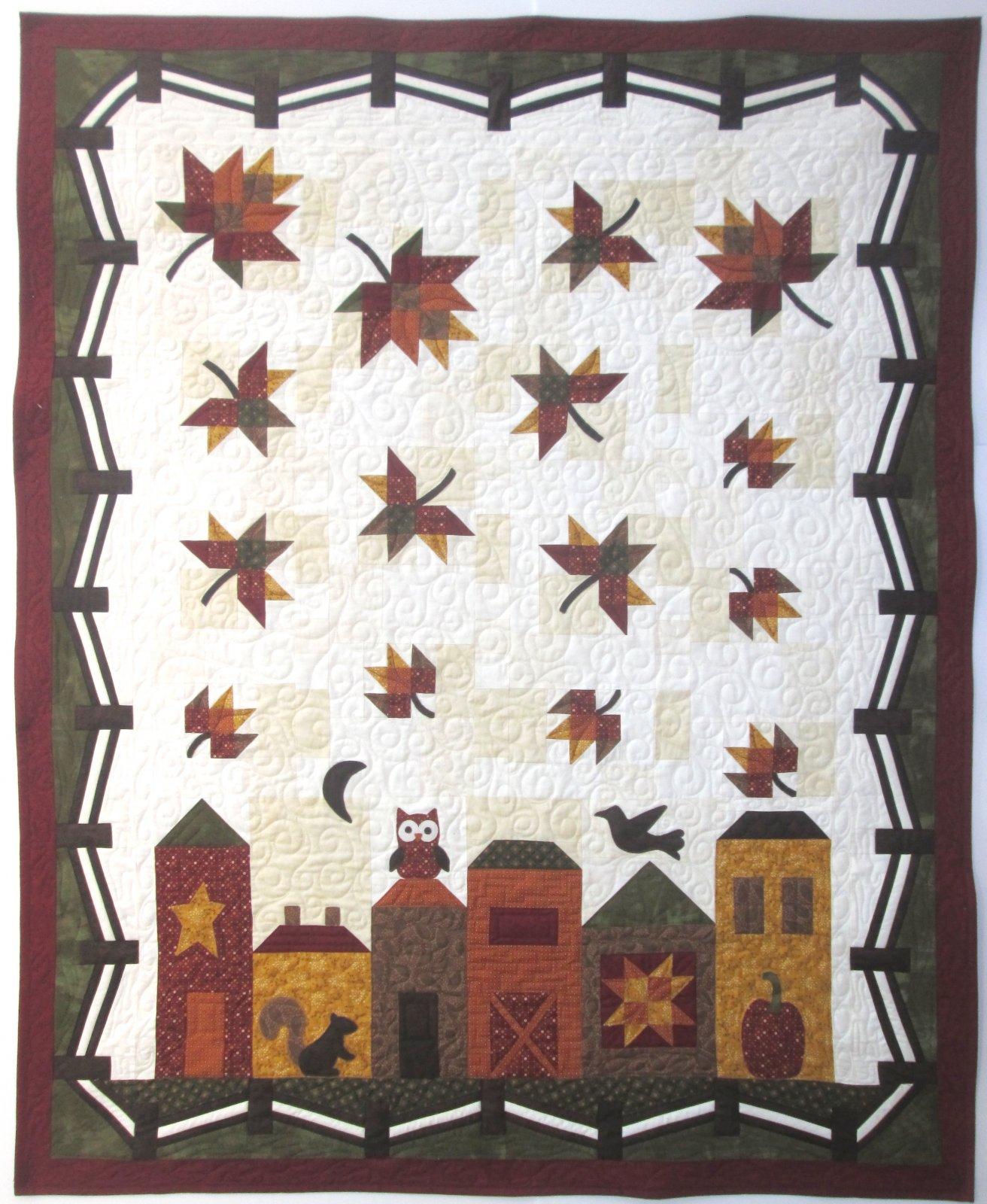 Abundant Blessings Hometown Harvest Quilt Sample 49 x 61