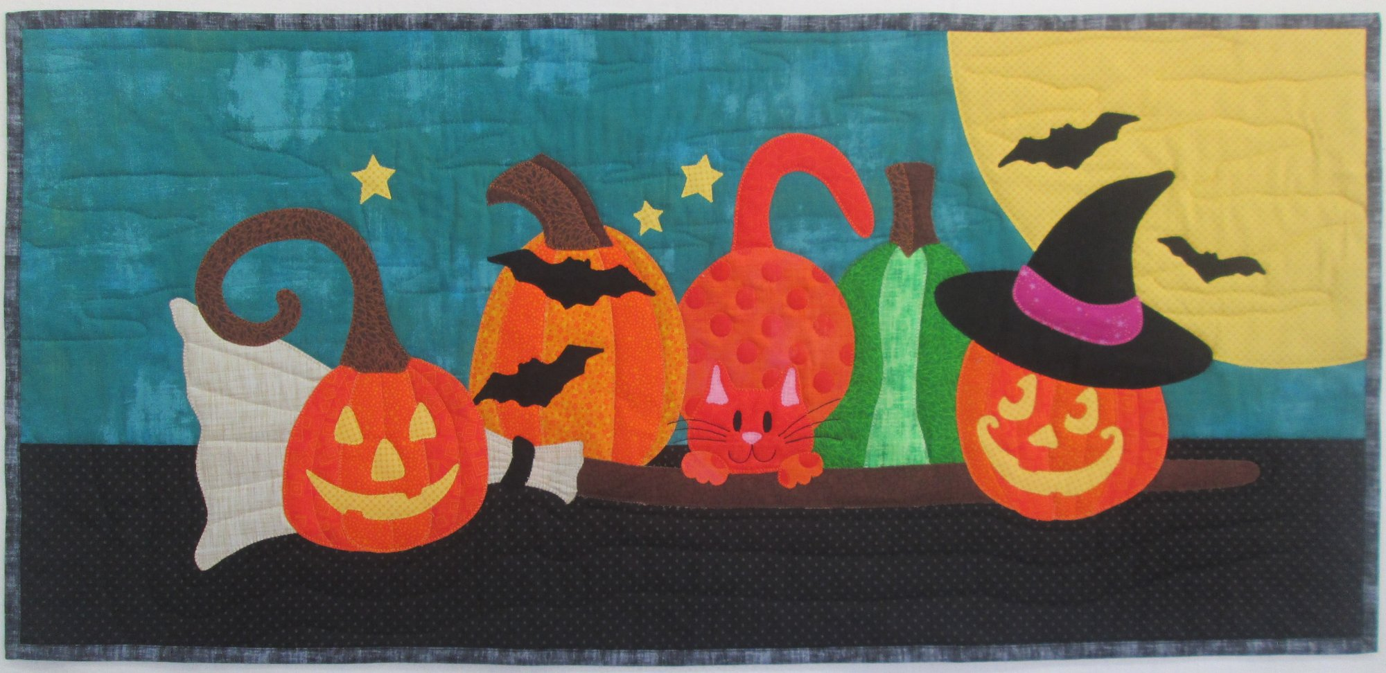 Halloween Patch Pillow or Table Runner Kit