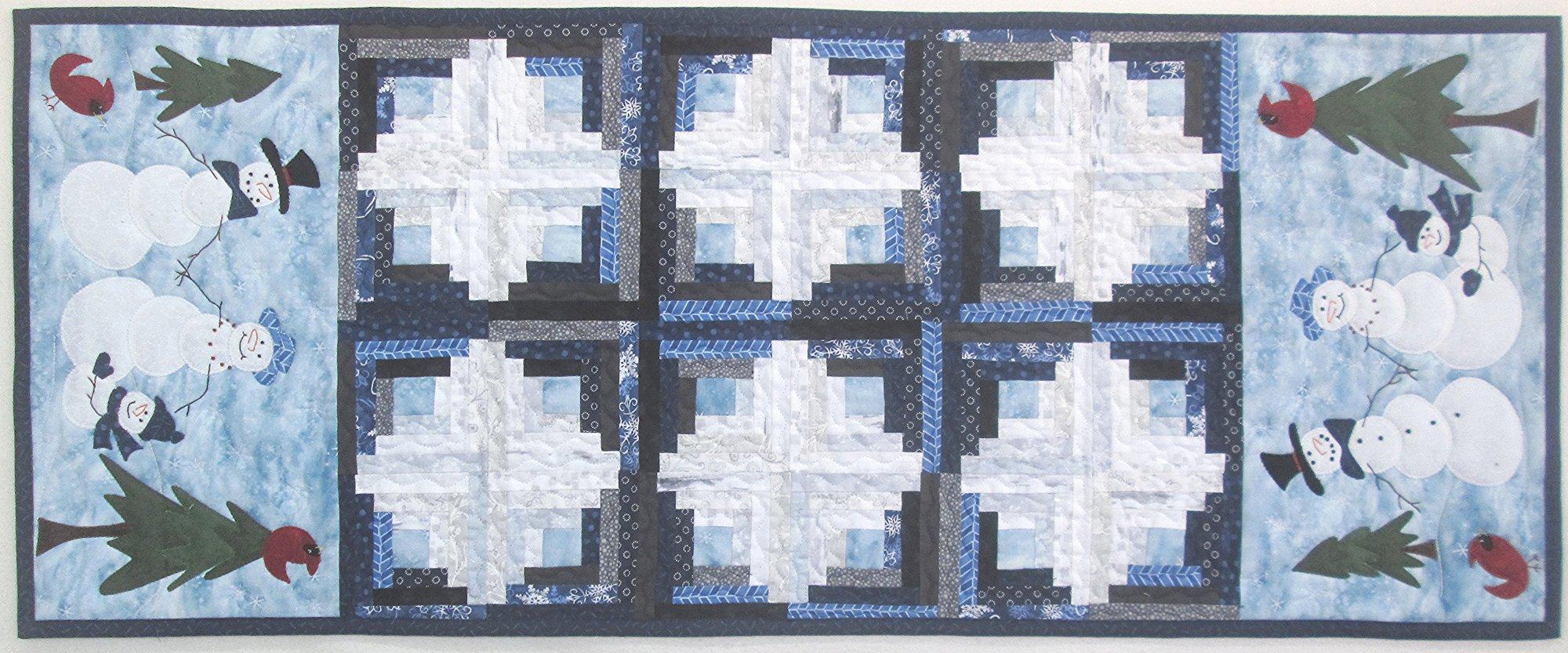 Cabin Flurries Table Runner Kit 16.5 x 40.5