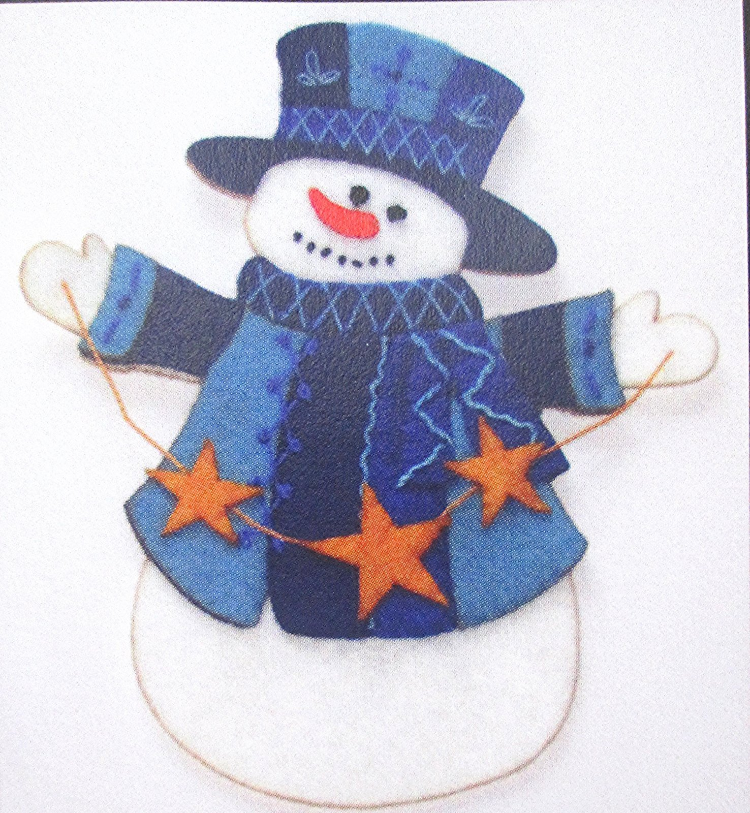 Artsi2 Winslow Snowman Ornament Kit 6.75 x 6