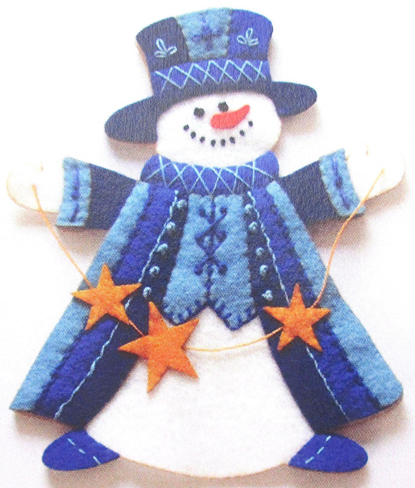 Artsi2 Arthur Snowman Ornament Kit 6.75 x 6