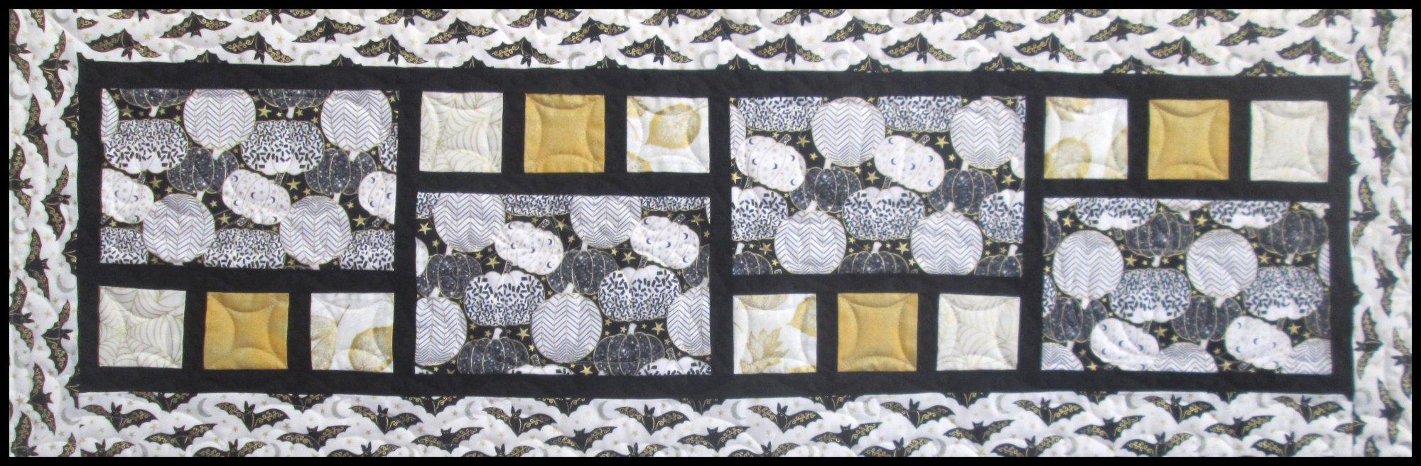 Midnight Spell All Squared Up Table Runner Kit