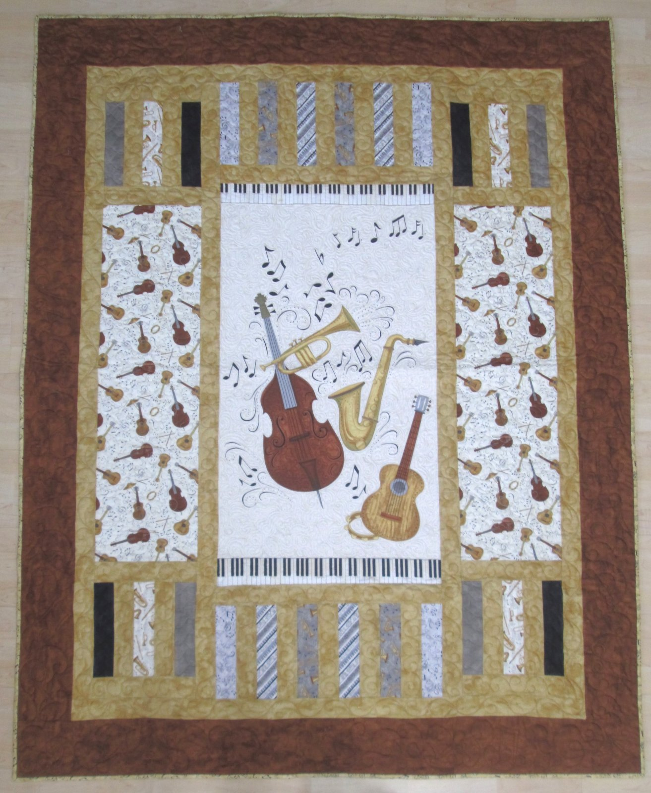 Classically Trained Trifecta Quilt Kit
