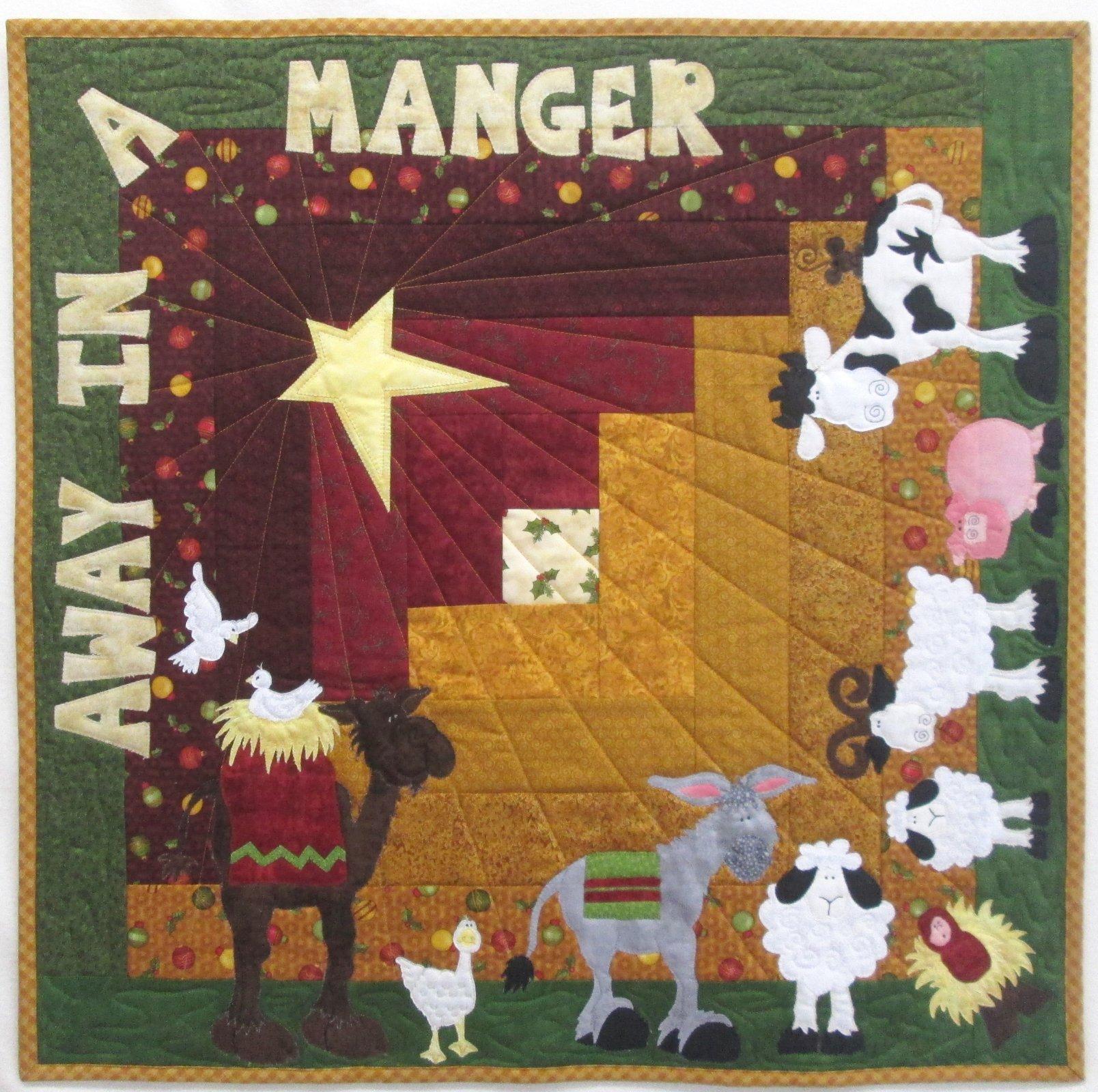 Away in a Manger Table Topper Kit