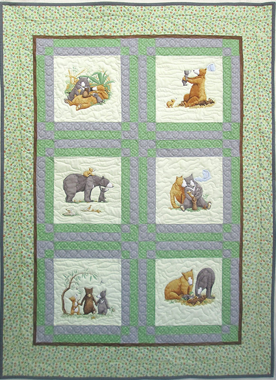 You're all my Favories Quilt Sample 40 x 54 3/4