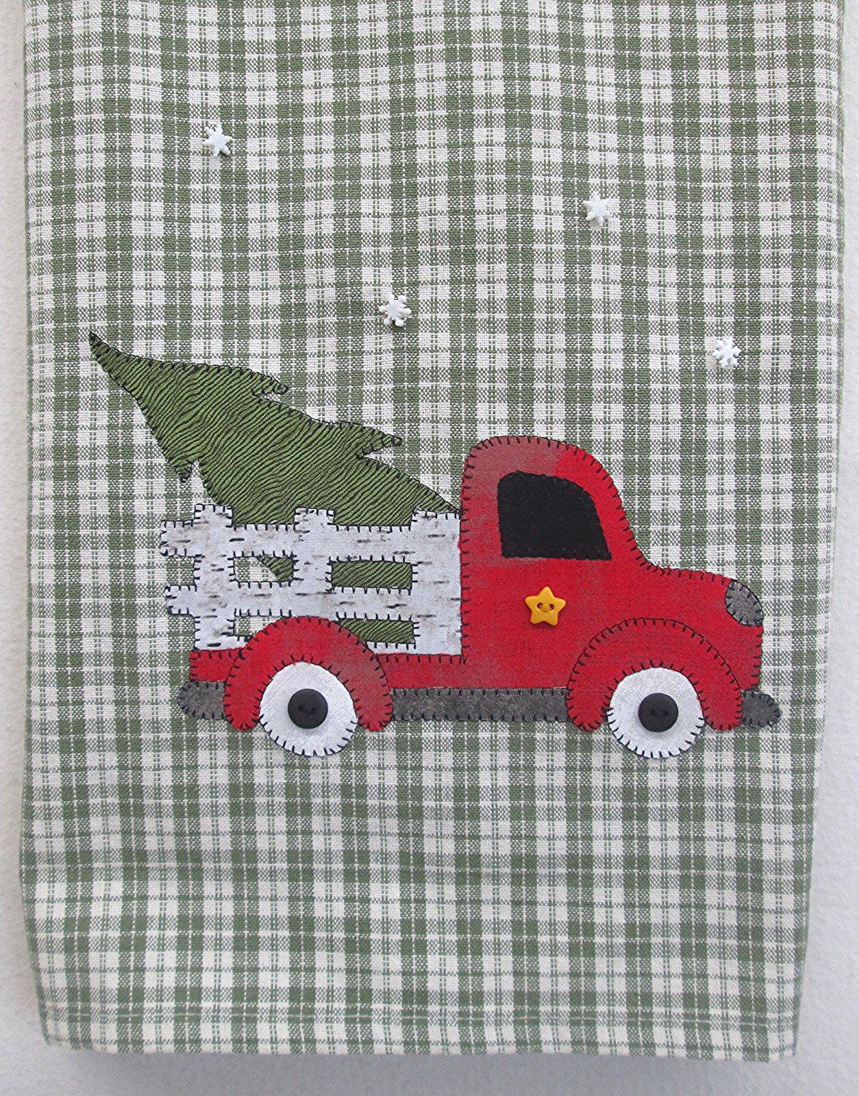 Christmas Delivery Tea Towel Kit