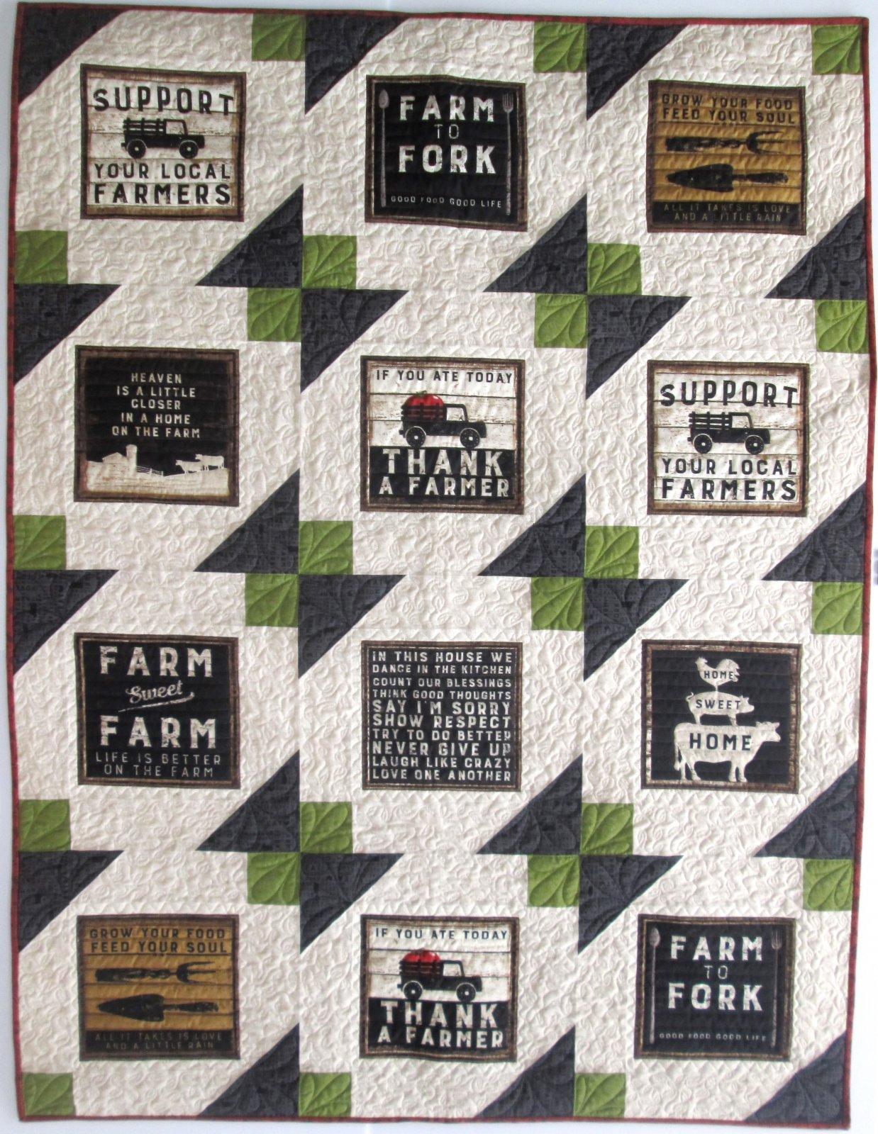 Farmhouse Life Ahoy Quilt Kit