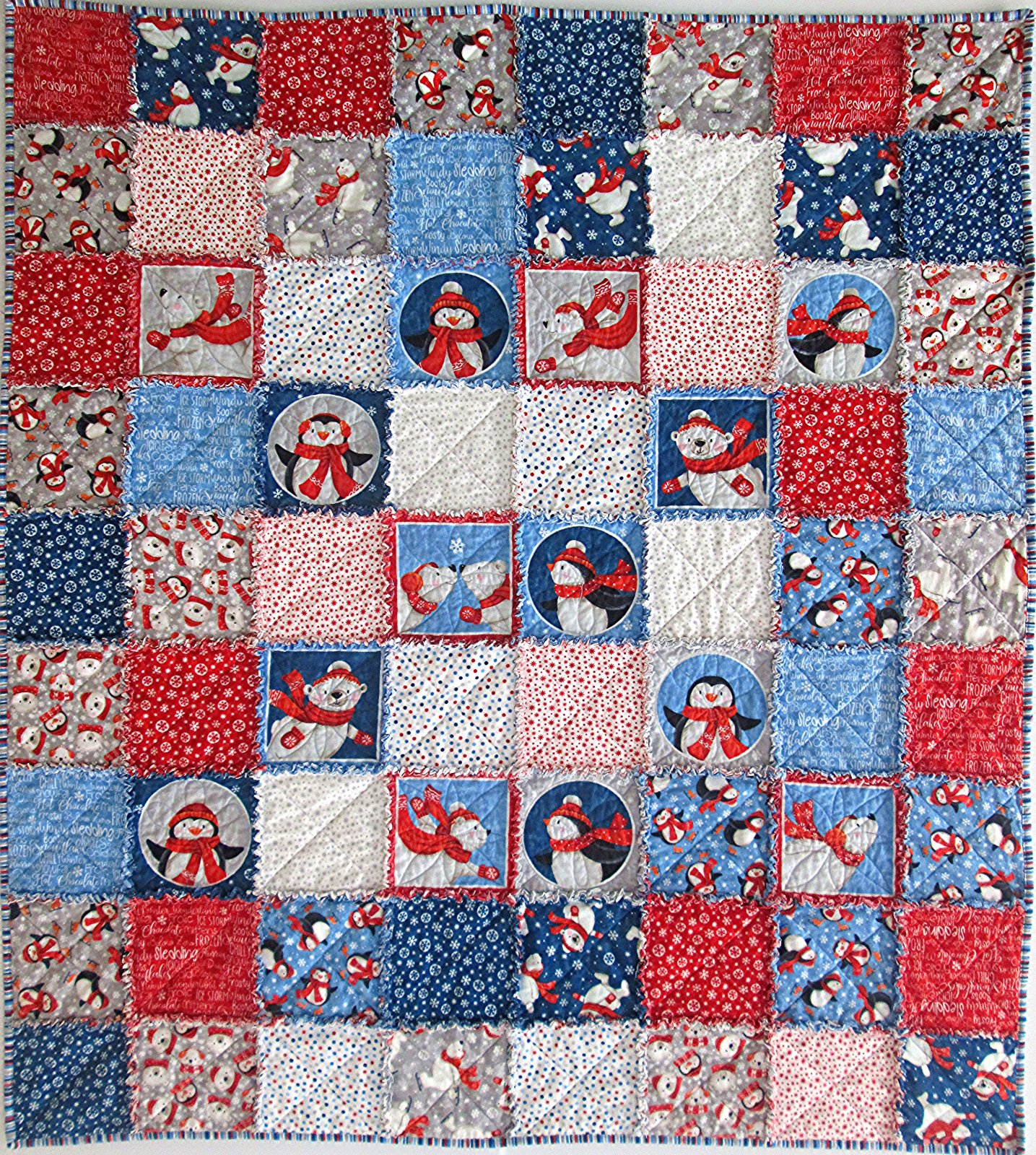 Below Zero Flannel Rag Quilt Kit